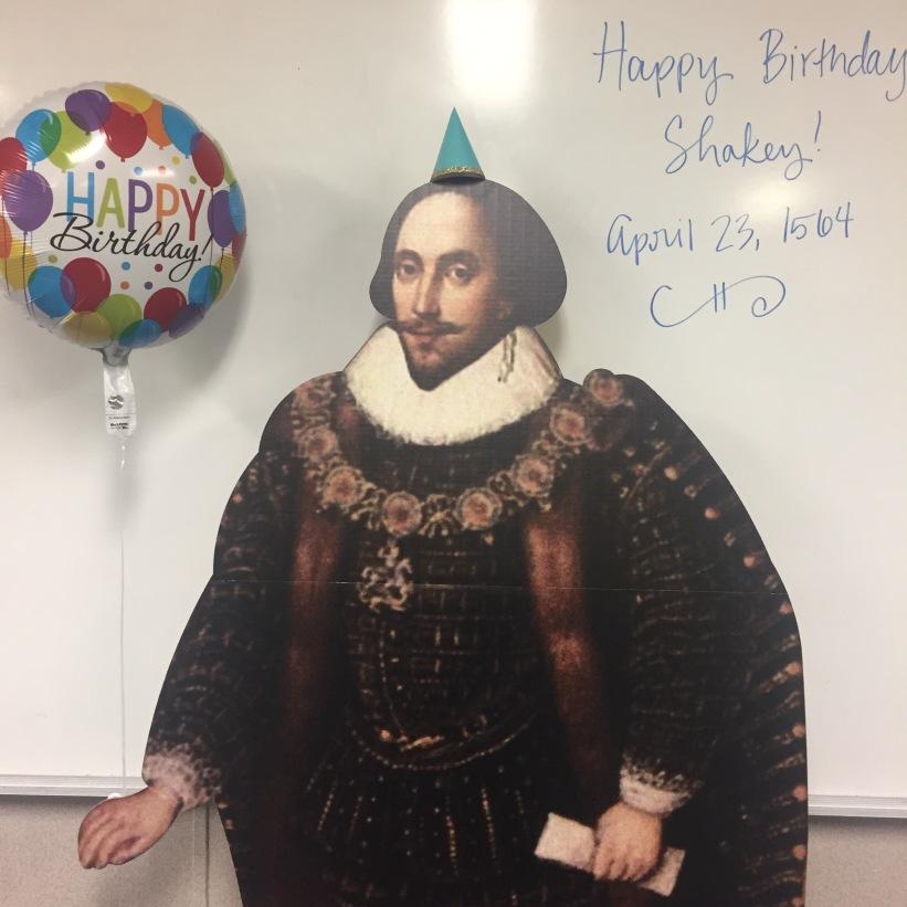 Happy Birthday, Shakey!