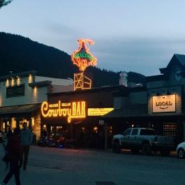 Cowboy Bar in downtown Jackson