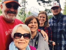 Selfie at Jenny Lake!